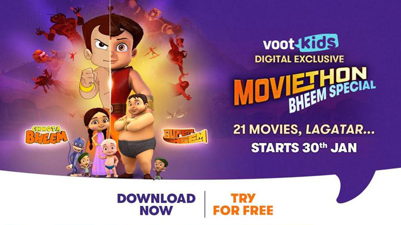 Voot Kids partners with Green Gold Animation for 21 Bheem movies
