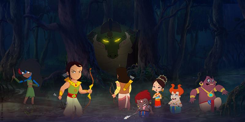 Arjun Prince Of Bali - Green Gold Animation