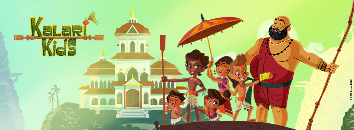 Green Gold Animation - Producers of Chhota Bheem, Mighty